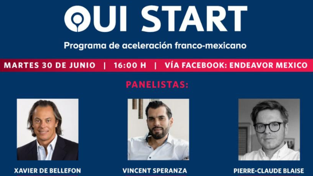 Mexique - 30/06 - Oui Start - Programa de Aceleración  Franco-Mexicano