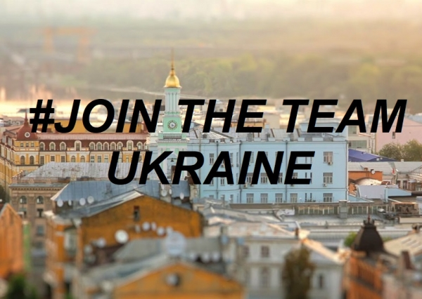 #Join the Team Ukraine